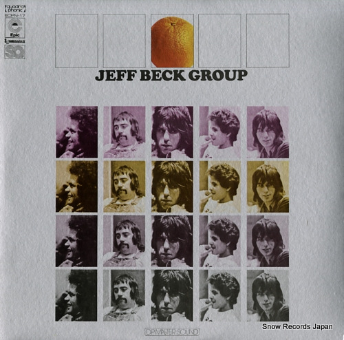 BECK, JEFF jeff beck group ECPN-17 - front cover