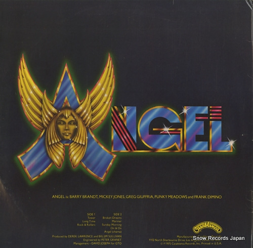 ANGEL angel NBLP7021 - back cover