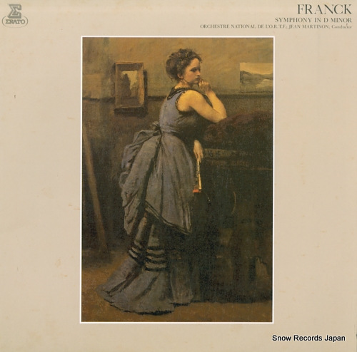 MARTINON, JEAN franck; symphony in d minor FCCA841 - front cover