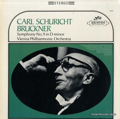 カール・シューリヒト bruckner; symphony no.9 in d minor S-60047
