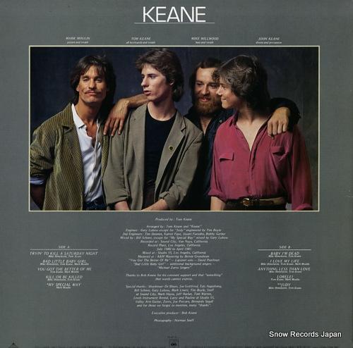 KEANE keane 25AP2099 - back cover