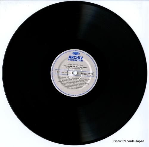 THOMAS, KURT bach; schweigt stille, plaudert nicht 198161 - disc