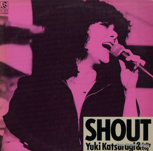 KATSURAGI, YUKI shout RL-3010 - front cover