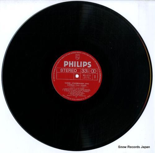 WIENER SANGERKNABEN sings austrian folk songs SFX-8723 - disc