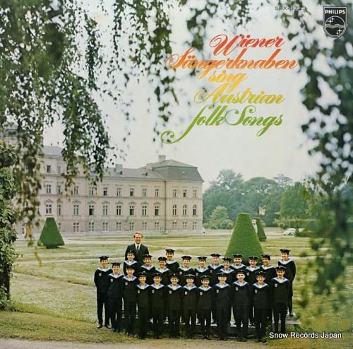 ウィーン少年合唱団 オーストリア民謡をうたう SFX-8723