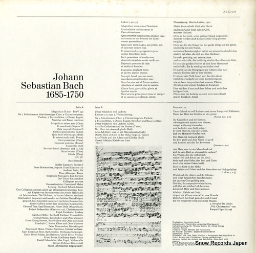 TOLZER KNABENCHOR bach; unser mund sei voll lachens ULS-3210-H - back cover