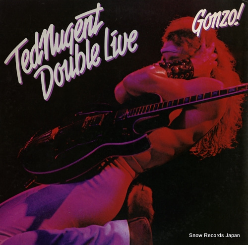 NUGENT, TED double live gonzo! 40AP872-3 - front cover
