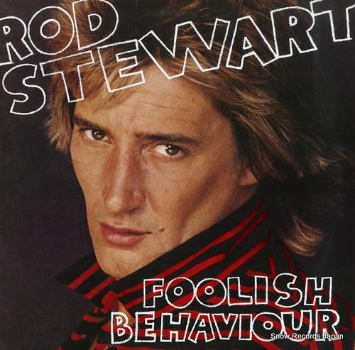 STEWART, ROD foolish behaviour P-10930W - front cover