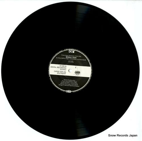 TOLZER KNABENCHOR schnizer; missa c-dur CARUS68.104 - disc