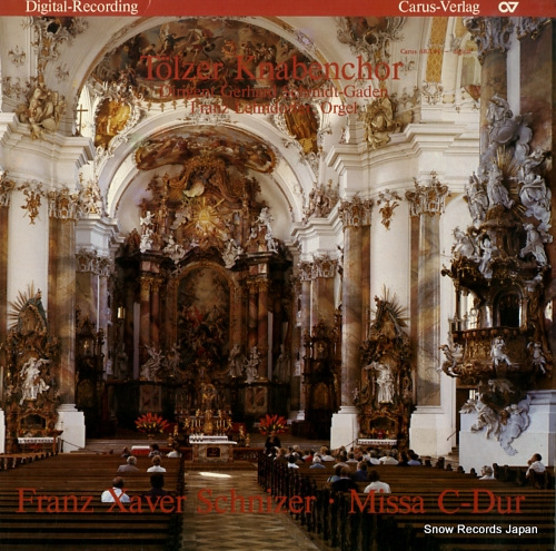 TOLZER KNABENCHOR schnizer; missa c-dur CARUS68.104 - front cover