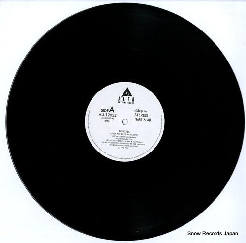 PRINCESS after the love has gone ALI-12022 - disc