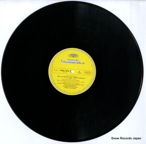 RICHTER, KARL bach; matthaus-passion chore und arien MGX7028 - disc