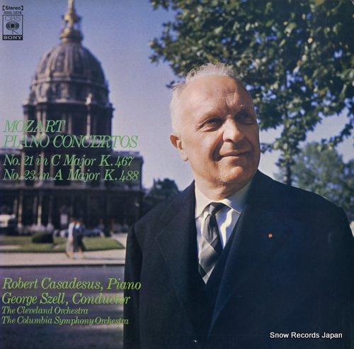 CASADESUS, ROBERT mozart; piano concertos no.21 & no.23 SOCL1078 - front cover