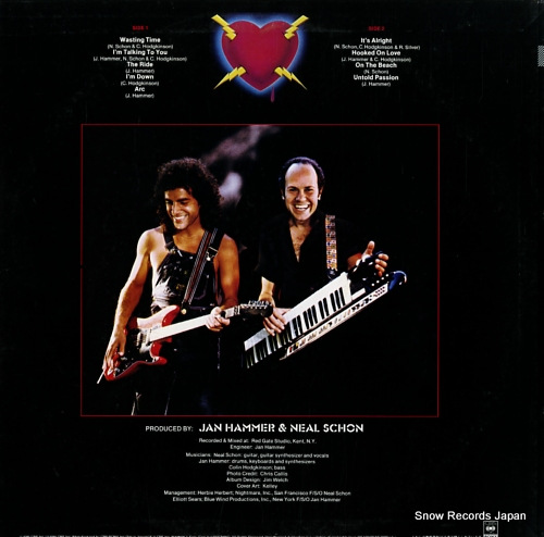 SCHON, NEAL, AND JAN HAMMER untold passion 25AP2228 - back cover