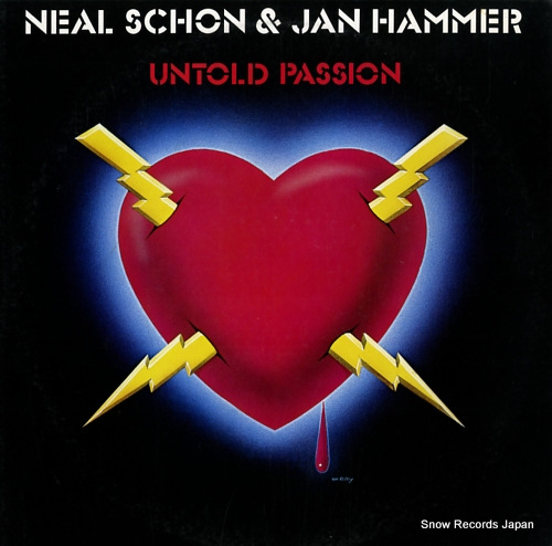 SCHON, NEAL, AND JAN HAMMER untold passion 25AP2228 - front cover