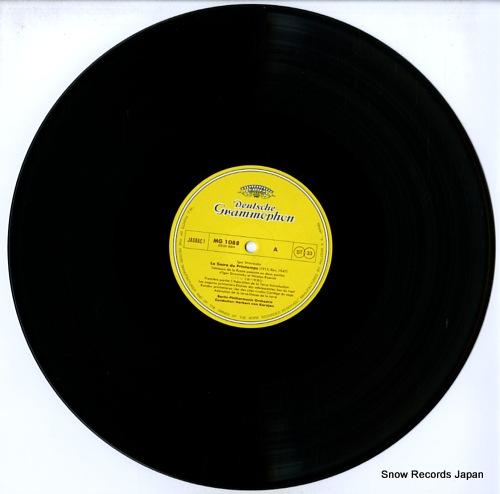 KARAJAN, HERBERT VON strawinsky; le sacre du printemps MG1088 - disc
