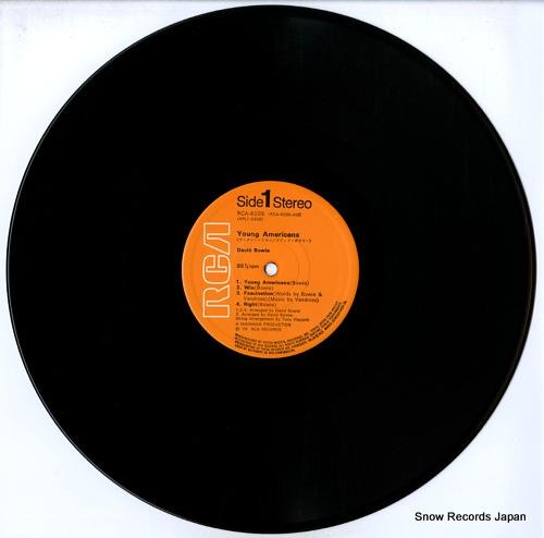 デビッド・ボウイ ヤング・アメリカン RCA-6285