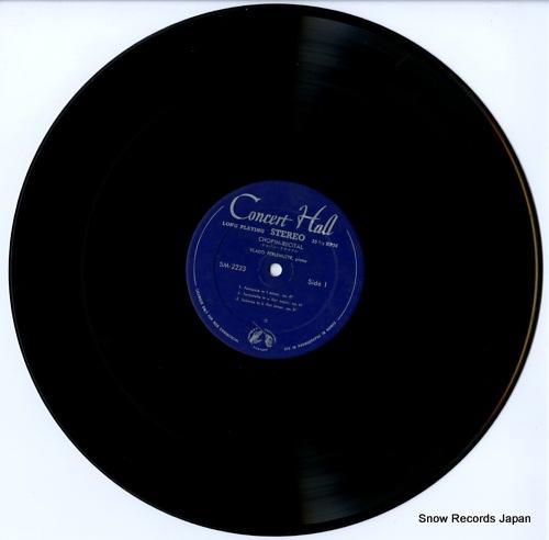 PERLEMUTER, VLADO chopin recital SM-2223 - disc