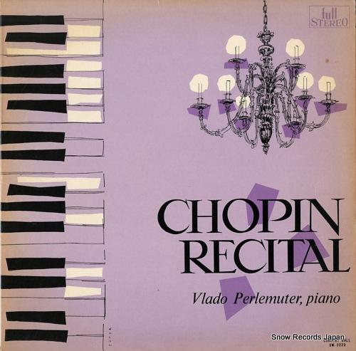PERLEMUTER, VLADO chopin recital SM-2223 - front cover