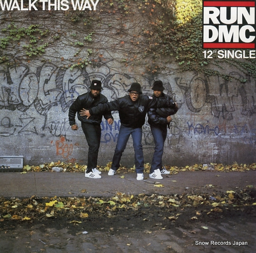 RUN-DMC walk this way L13P7117 - front cover