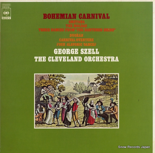 SZELL, GEORGE bohemian carnival 13AC219 - front cover