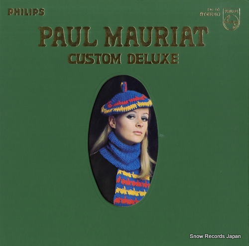MAURIAT, PAUL custom deluxe FD-16 - front cover