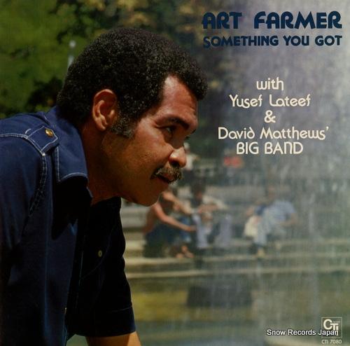 FARMER, ART something you got CTI7080 - front cover