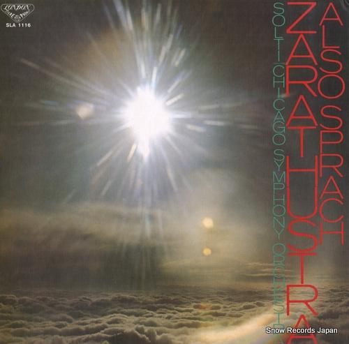 ゲオルグ・ショルティ r.シュトラウス:交響曲「ツァラトゥストラかく語りき」 SLA1116