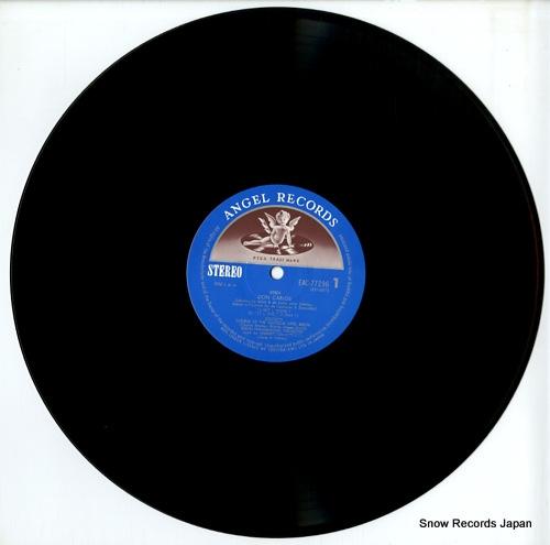 KARAJAN, HERBERT VON verdi; don carlos EAC-77296-98 - disc