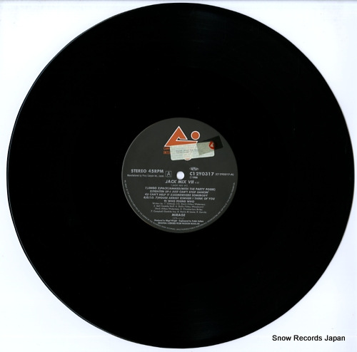 MIRAGE jack mix vii C12Y0317 - disc