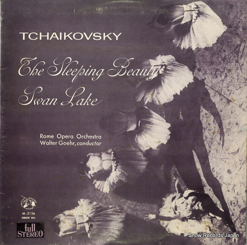 GOEHR, WALTER tchaikovsky; swan lake, the sleeping beauty SM-2156A / M-2156 - front cover