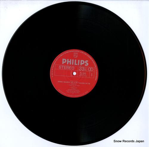 QUARTETTO ITALIANO dvorak; string quartet in f op.96 american PL-1365 - disc