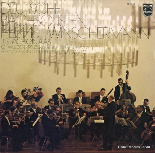 WINSCHERMANN, HELMUT bach; cantatas PL-1332 - front cover