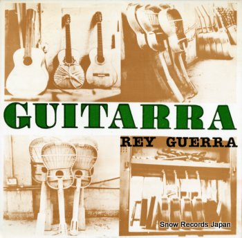 GUERRA, REY guitarra