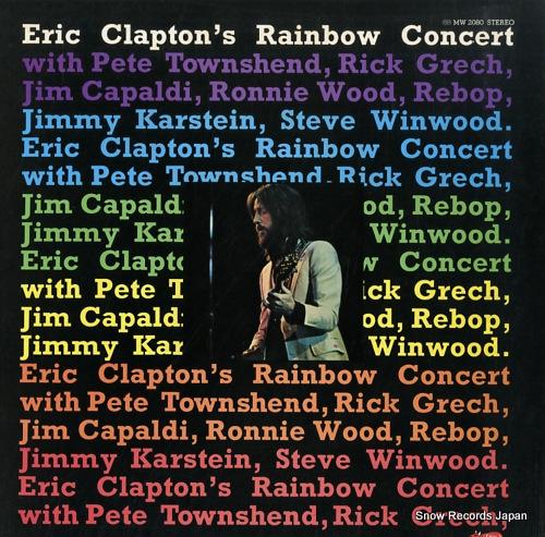 CLAPTON, ERIC rainbow concert