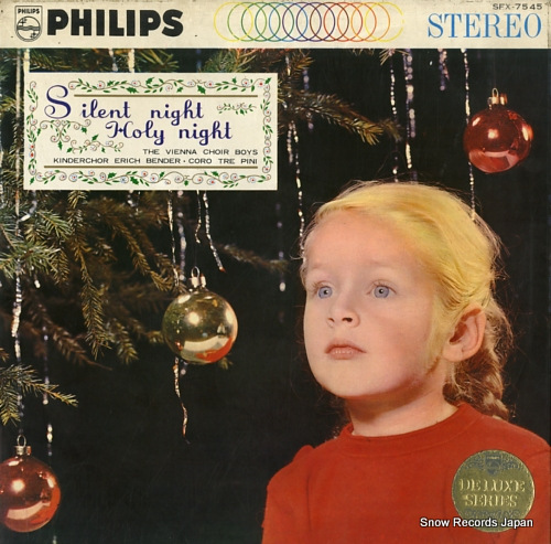 VIENNA CHOIR BOYS, THE silent night holy night SFX-7545 - front cover