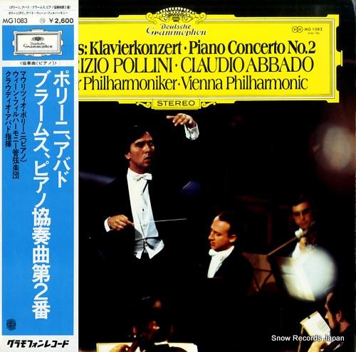 POLLINI, MAURIZIO, CLAUDIO ABBADO brahms; klavierkonzert / piano concerto no.2