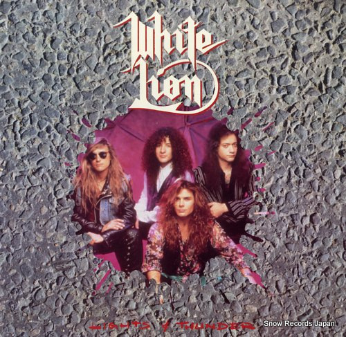 WHITE LION lights & thunder