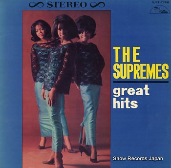 SUPREMES, THE great hits