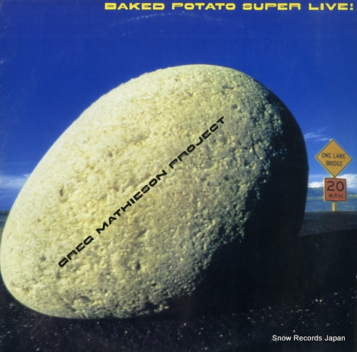 MATHIESON, GREG baked potato super live 25AP2315 - front cover