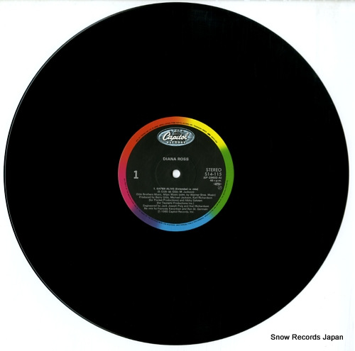 ROSS, DIANA eaten alive S14-115 - disc