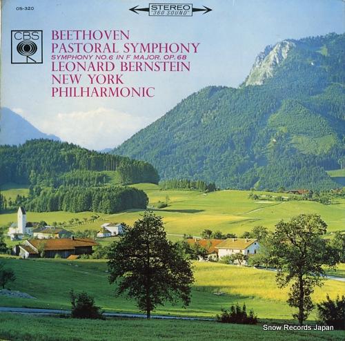 BERNSTEIN, LEONARD beethoven; pastoral symphony no.6 in f major, op.68 OS-320 - back cover