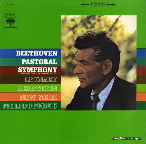 BERNSTEIN, LEONARD beethoven; pastoral symphony no.6 in f major, op.68 OS-320 - front cover