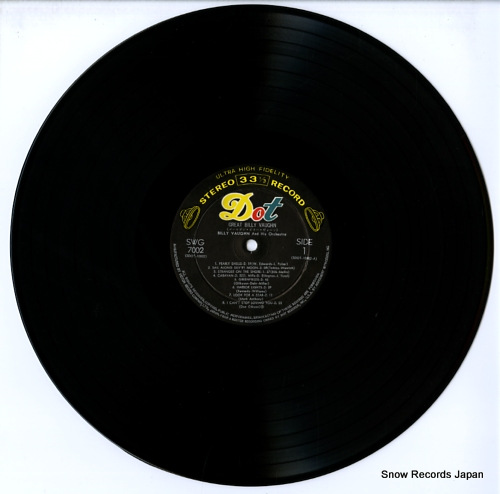VAUGHN, BILLY great billy vaughn SWG-7002 - disc