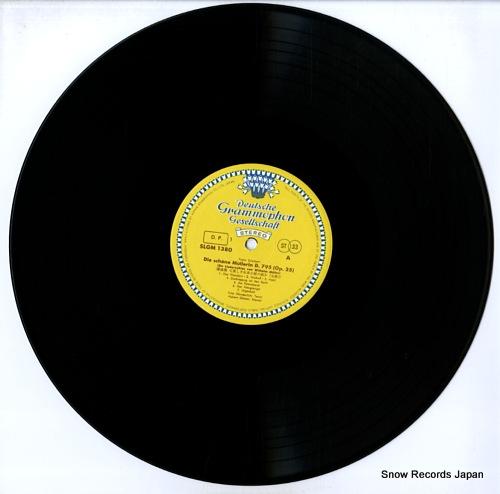 WUNDERLICH, FRITZ schubert; die schone mullerin, 7 ausgewahlte lieder SLGM-1380/81 - disc