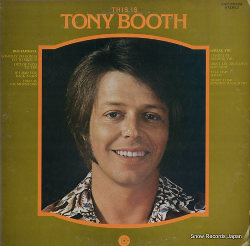 BOOTH, TONY this is tony booth ECP-80908 - front cover