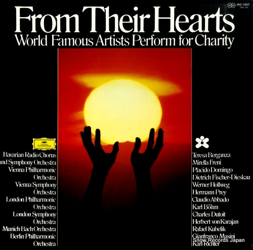 KARAJAN, HERBERT VON from their hearts MG1007 - front cover