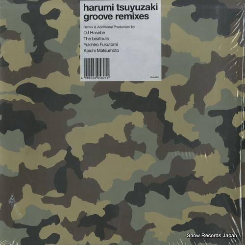 TSUYUZAKI, HARUMI groove remixes DIVA-002 - front cover