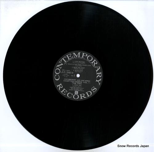 HAWES, HAMPTON hampton hawes, vol.1: the trio LAX3001(M) - disc