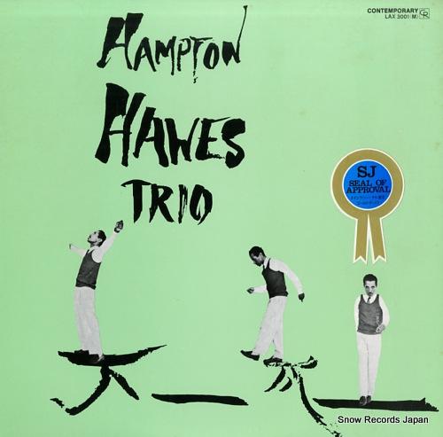 HAWES, HAMPTON hampton hawes, vol.1: the trio LAX3001(M) - front cover